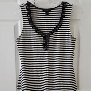 Sleeveless shirt from White House Black Market